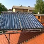próżniowy rurowy kolektor słoneczny