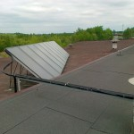 układ solarny składający się z 10 płyt kolekrowych płaskich (2)